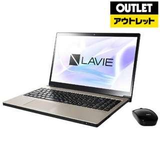 【アウトレット品】 15.6型ノートパソコン [Win10 Home・Core i7・HDD 1TB・SSD 128GB・メモリ 8GB] LAVIE Note NEXT  PC-NX850LAG クレストゴールド 【外装不良品】