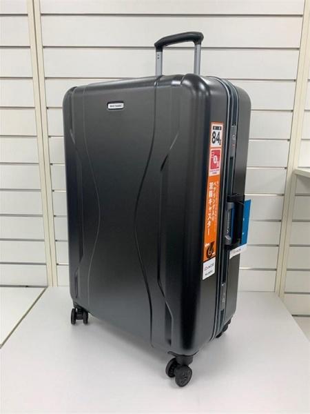 スーツケース 84L ワールドトラベラー(World Traveler) コヴァーラム(KOVALAM) ガンメタリック 06583-02 [TSAロック搭載]