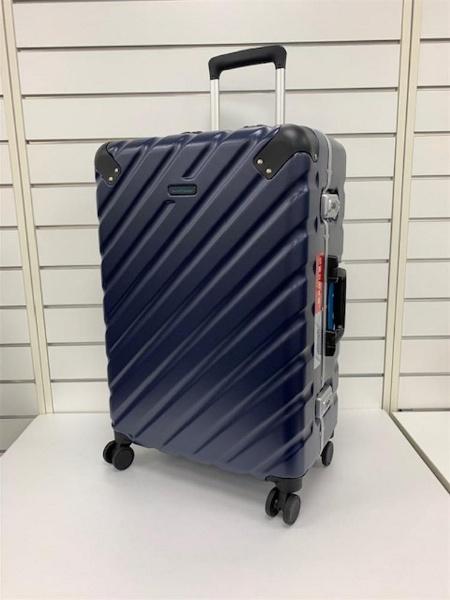 スーツケース 63L ワールドトラベラー(World Traveler) エラコール ネイビー WORLD-409703 [TSAロック搭載]