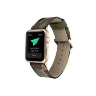 Apple Watch (42mm) ベルト デニム カモフラ