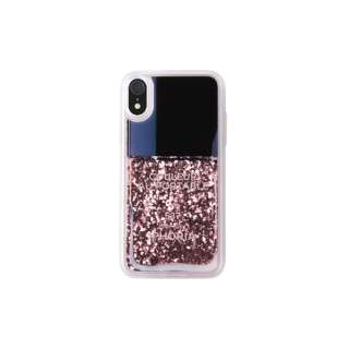 Liquid Case Pink Party for iPhone XR リキッドケースピンクパーティ 16605
