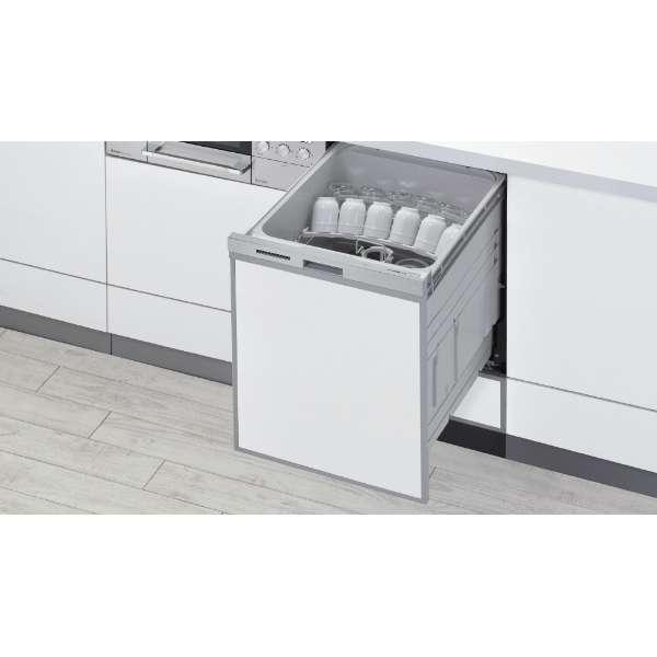 RWX-SD401LP ビルトイン食器洗い乾燥機 深型スライドオープンタイプ シルバー [6人用]