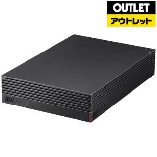 【アウトレット品】 USB3.1(Gen1)/USB3.0用 外付けHDD [3.5インチ /2TB] HD-EDS2.0U3-BA ブラック 【生産完了品】