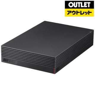 【アウトレット品】 USB3.1(Gen1)/USB3.0用 外付けHDD [3.5インチ/4.0TB] HD-EDS4.0U3-BA ブラック 【生産完了品】