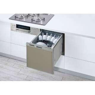RWX-404C ビルトイン食洗機 スライドオープン  シルバー [5人用]