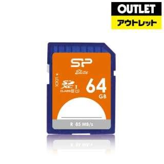 【アウトレット品】 SDXCカード [64GB /Class10] Elite SPJ064GSDEU1 【数量限定品】