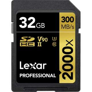 SDHCカード Lexar Professional LSD32GCBJP2000R [32GB /Class10]