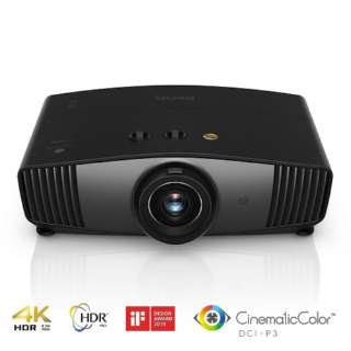 HT5550 [DLPホームエンターテイメントシネマプロジェクター 4K(UHD 3840×2160) XPRテクノロジー HDR10&HLG対応 Cinematic color 1800lm 3D対応] HT5550