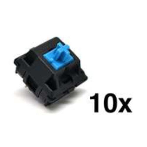 ビットトレードワン ビットトレードワン CherryMX メカニカルキースイッチ10個セット 青軸 ADMXB ブルー