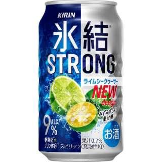 氷結ストロング ライムシークヮーサー (350ml/24本)【缶チューハイ】