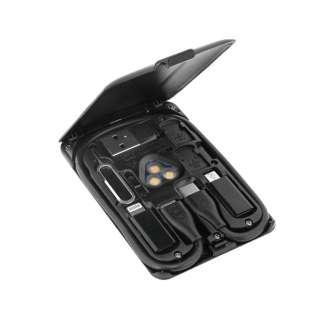 CARD KableCARD カードサイズ マルチツール 充電ケーブル ワイヤレス充電 SIM収納 スマホスタンド TYPE-C USB-C ブラック KC7-JB