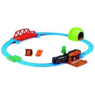 プラレール レールでアクション!なるぞ!ひかるぞ! C62蒸気機関車セット(通常版)