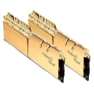 Trident Z Royal F4-3200C16D-16GTRG F4-3200C16D-16GTRG [DIMM DDR4 /8GB /2枚]