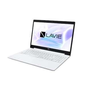 PC-NS100N2W ノートパソコン LAVIE Note Standard カームホワイト [15.6型 /intel Celeron /HDD:500GB /メモリ:4GB /2019年5月モデル]