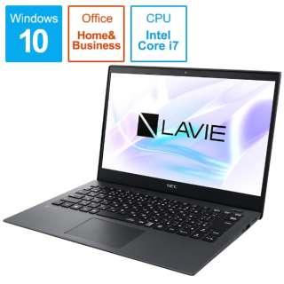 PC-PM750NAB ノートパソコン LAVIE Pro Mobile メテオグレー [13.3型 /intel Core i7 /SSD:512GB /メモリ:8GB /2019年5月モデル]