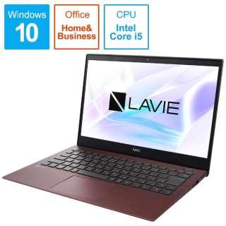 PC-PM550NAR ノートパソコン LAVIE Pro Mobile クラシックボルドー [13.3型 /intel Core i5 /SSD:256GB /メモリ:8GB /2019年5月モデル]