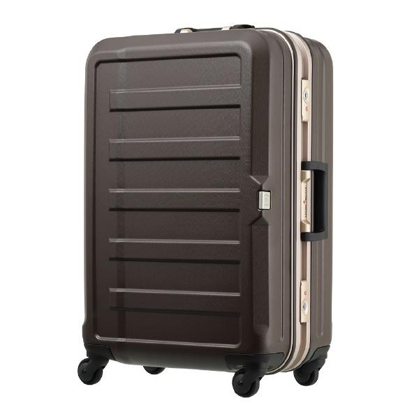 シボ加工スーツケース 85L モカ 5088-68-MC [TSAロック搭載]