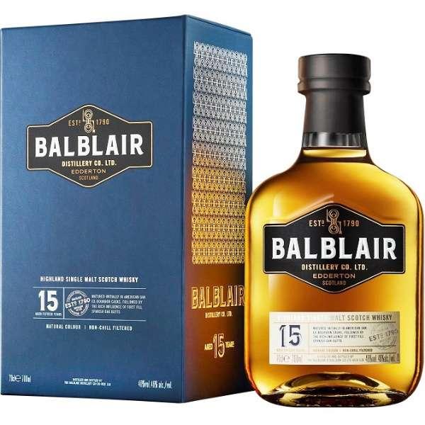 バルブレア 15年 700ml【ウイスキー】 [700ml]