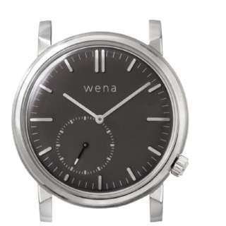 wena wrist Three Hands Retro Silver Head   WNW-HT21 S