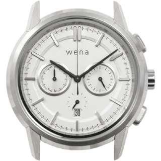 wena wrist Chronograph Classic White Head WNW-HC21 W