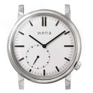 wena wrist Three Hands Retro White Head WNW-HT21 W