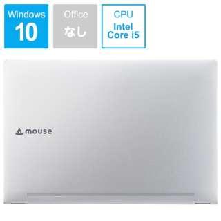 BC-MB15P82M8S2-191 ノートパソコン mouse シルバー [15.6型 /intel Core i5 /SSD:256GB /メモリ:8GB /2019年5月モデル]