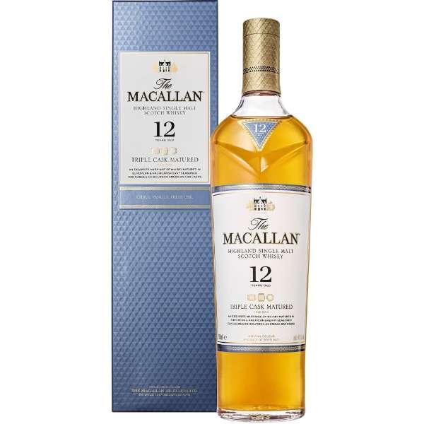 [正規品] ザ・マッカラン トリプルカスク 12年 700ml【ウイスキー】
