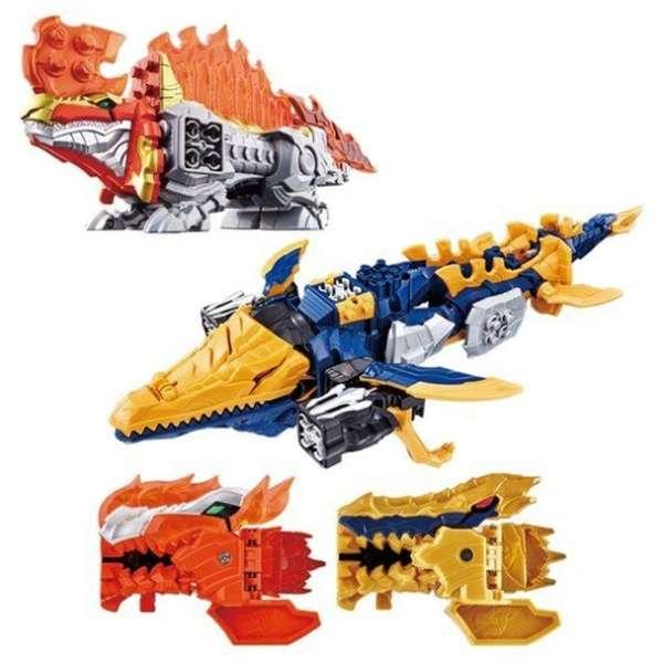 騎士竜戦隊リュウソウジャー 騎士竜シリーズ06&07 DXスピノサンダーセット