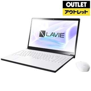 【アウトレット品】 15.6型ノートPC [Win10 Home・Core i7・HDD 1TB・Optane 16GB・メモリ 8GB] LAVIE Note NEXT  PC-NX750LAW プラチナホワイト 【外装不良品】