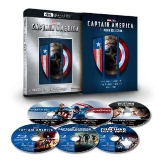 キャプテン・アメリカ:4K UHD 3ムービー・コレクション(数量限定) 【Ultra HD ブルーレイソフト】