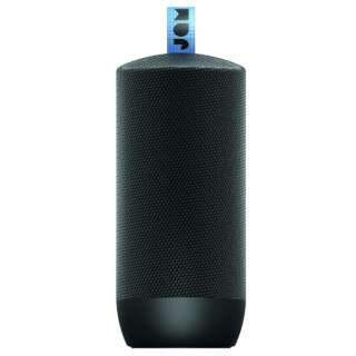 ZERO CHILL BK ブルートゥース スピーカー ブラック [Bluetooth対応 /防水]