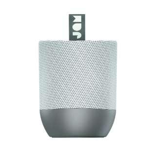 ブルートゥーススピーカー グレイ DOUBE CHILL GY [Bluetooth対応]