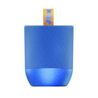 DOUBLE CHILL BL ブルートゥース スピーカー ブルー [Bluetooth対応 /防水]
