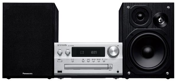 パナソニック SC-PMX90-S シルバー CDステレオシステム ハイレゾ音源対応 コンポ