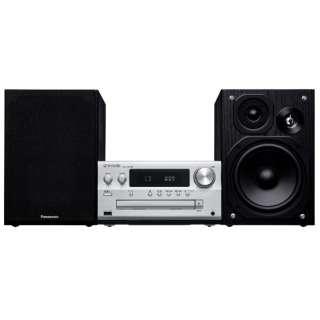 ミニコンポ SC-PMX90S シルバー [ワイドFM対応 /Bluetooth対応 /ハイレゾ対応]