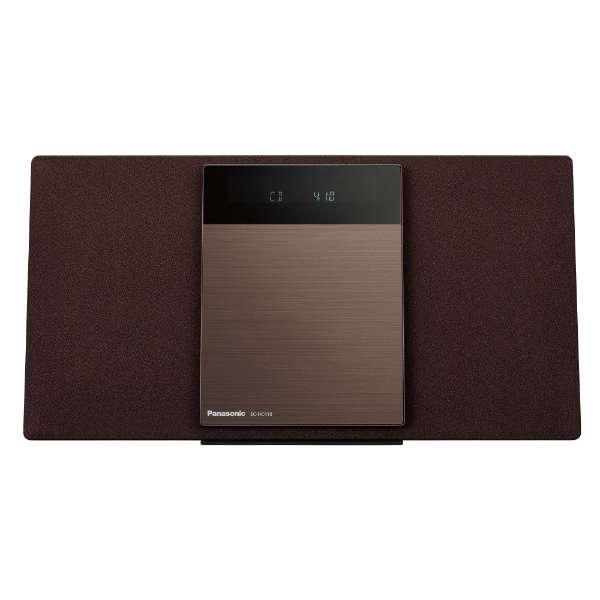 ミニコンポ SC-HC410-T ブラウン [ワイドFM対応 /Bluetooth対応]