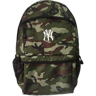 バックパック メジャーリーグ ベースボール ニューヨーク ヤンキース(縦48×横29×マチ14cm/CAMO)YK-MBBK150