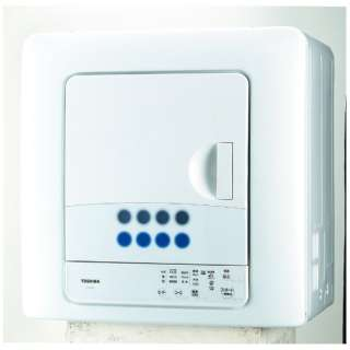 ED-608-W 衣類乾燥機 ピュアホワイト [乾燥容量6.0kg]