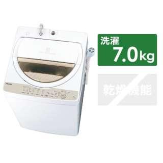 AW-7G8BK-W 全自動洗濯機 ZABOON(ザブーン) グランホワイト [洗濯7.0kg /乾燥機能無 /上開き]