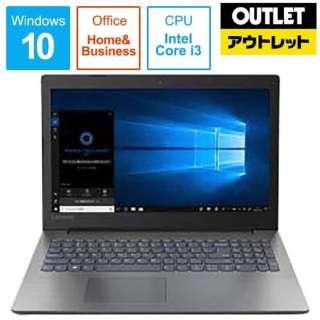 【アウトレット品】 15.6型ノートPC [Office付・Core i3・HDD 500GB・メモリ 4GB] Ideapad 330   81DE001LJP 【数量限定品】