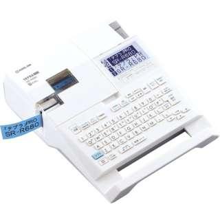 SR-R680 ラベルライター 「テプラ」PRO ホワイト