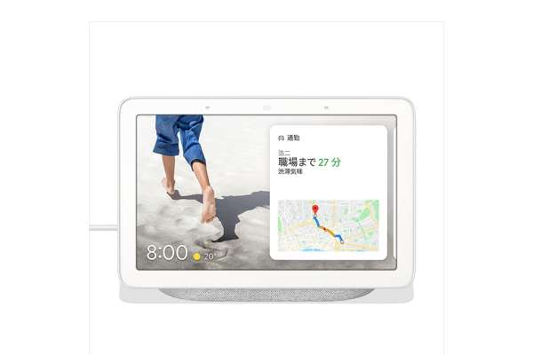 Google「Google Nest Hub」GA00516-JP(7 インチ)