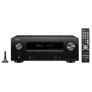AVR-X2600H AVアンプ DENON ブラック [ハイレゾ対応 /Bluetooth対応 /Wi-Fi対応 /ワイドFM対応 /7.1.2ch /DolbyAtmos対応]