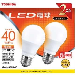 LDA4L-G/K40V1P LED電球 [E26 /電球色]