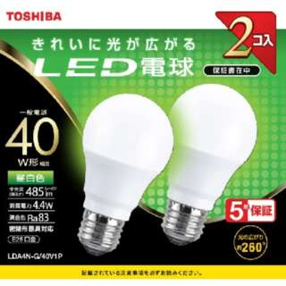LDA4N-G/40V1P LED電球 [E26 /昼白色]