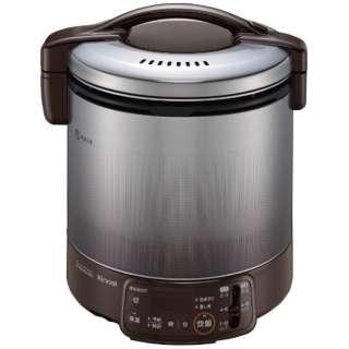 RR-100VQT-DB_LP ガス炊飯器 ダークブラウン [1升 /プロパンガス]