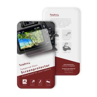 イージーカバー 強化ガラス 液晶保護フィルム D5600用