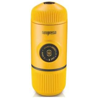 W-102 エスプレッソマシン ナノプレッソ 黄