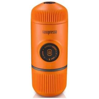 W-103 エスプレッソマシン ナノプレッソ オレンジ