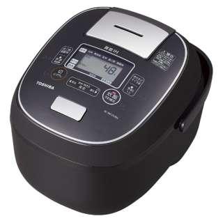 RC-BK10VRN-K 炊飯器 グランブラック [5.5合 /IH] 【ビックカメラグループオリジナル】